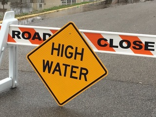 MAP: More roads close as water creeps higher