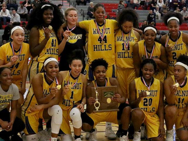 walnut hills girls u0026 39  basketball team savors its district