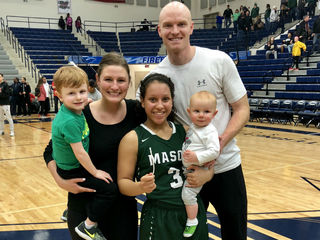 Basketball leads teen to new family, faith, love