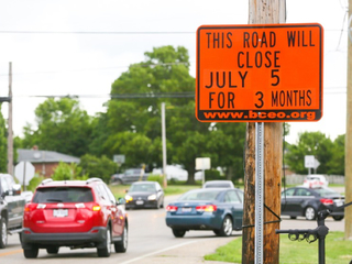 Liberty Twp. street to close again for more work