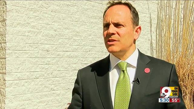 Kentucky Gov. Matt Bevin says teachers protesting pension bill a