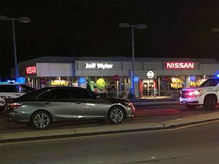 Shooting, stabbing near Colerain Ave. car dealer