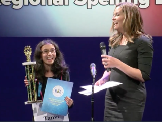 Two girls win WCPO/Scripps Regional Spelling Bee