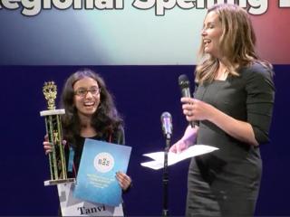 Two girls win WCPO/Scripps Regional Spelling Bee
