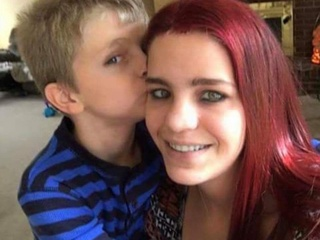 Slain boy was happy to have mom back in his life