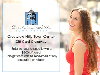 Contest Crestview Hills Town Center Gift Card