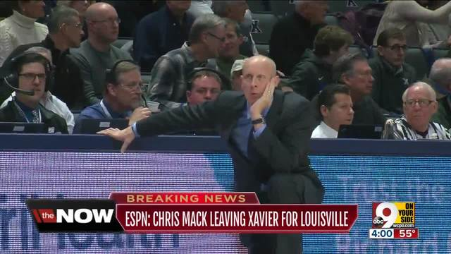Louisville hires Xavier's Mack as Cardinals' coach
