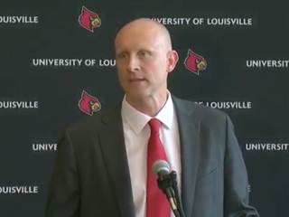 Chris Mack introduced as Louisville coach