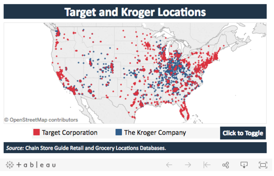 Kroger Merges With Target? Unlikely, But Intriguing