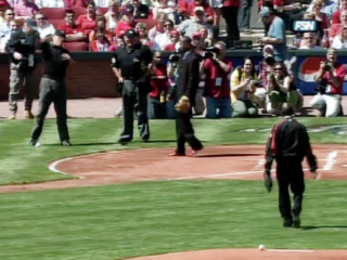 Vault: Watch mayor throw worst first pitch ever