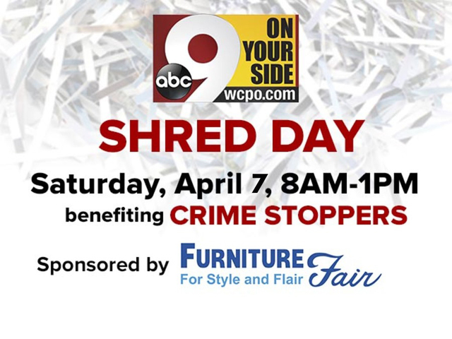 9 On Your Side Shred Day At Furniture Fair Protects You From Identity  Thieves   WCPO Cincinnati, OH