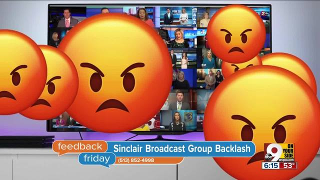 Feedback Friday- Just to be sin-clear- we-re not Sinclair