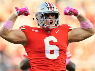 Who is Sam Hubbard, the Bengals' No. 77 pick?
