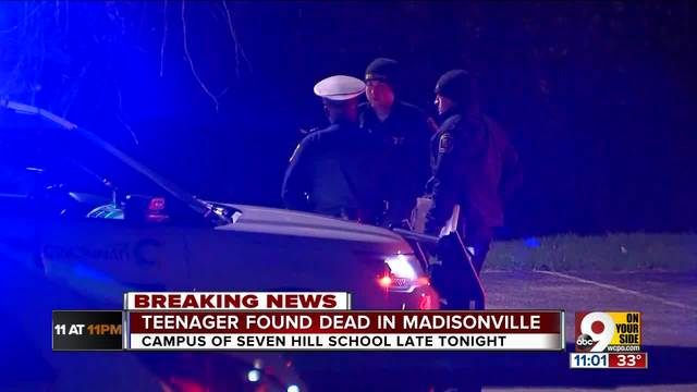 PD: Teenager found dead on Seven Hills campus