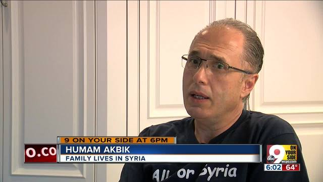 Humam Akbik has family in Syria