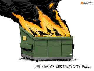 EDITORIAL CARTOON: Live view of City Hall