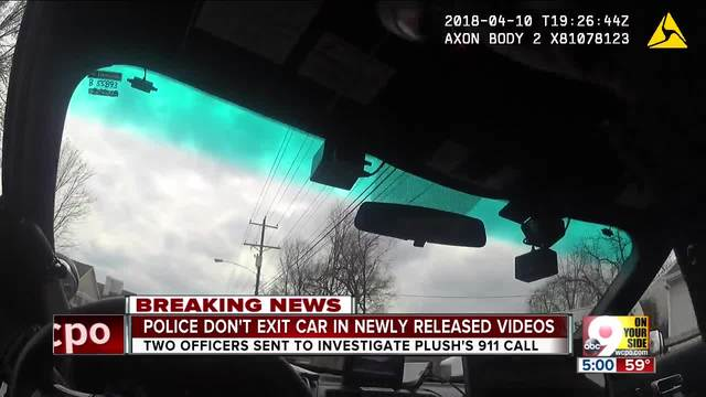 Video shows officers stay in cruiser searching for OH teen