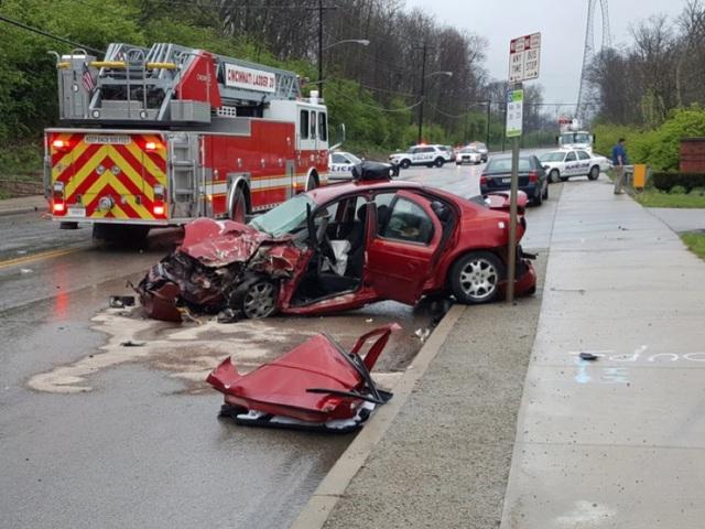 11 children hurt in multi-vehicle crash involving school bus