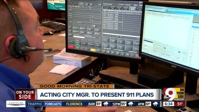 Acting city manager to present 911 plans to city council Tuesday