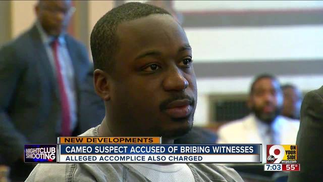 Cameo suspect accused of bribing witnesses