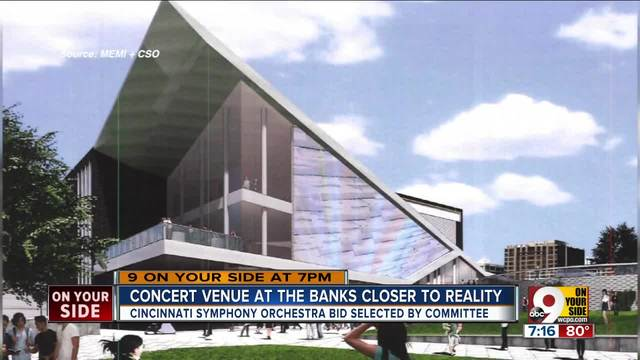 Joint Banks Steering Committee Recommends Cincinnati Symphony