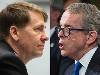 DeWine, Cordray woo voters over holiday weekend