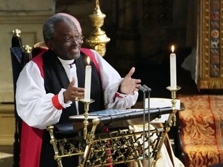 Fiery pastor at royal wedding has local ties