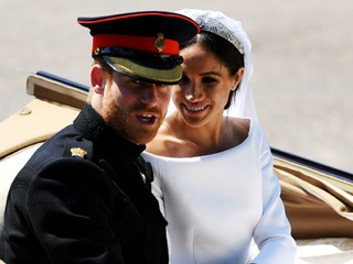 PHOTOS: Prince Harry and Meghan Markle wed