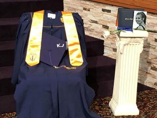 Prom night crash victim honored at graduation