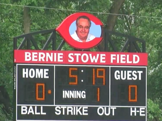 Reds' heavy hitters dedicate Bernie Stowe Field