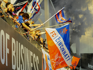 Only one thing missing from FC Cincy's 4-0 win