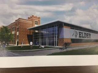 Kyle Rudolph helps fund Elder's fitness center