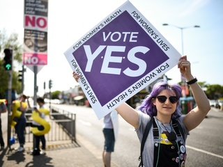 Exit polls: Irish voters repeal abortion ban