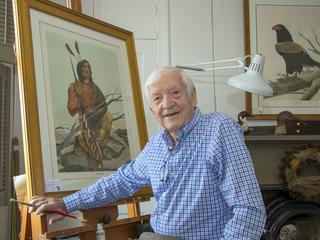 Artist John Ruthven among senior honorees