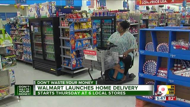 Walmart targets Cincinnati home delivery market with 'transparency' pitch | WCPO