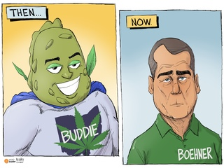 EDITORIAL CARTOON: The face of legalization