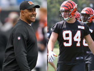Bengals coach: Hubbard 'way ahead of the curve'