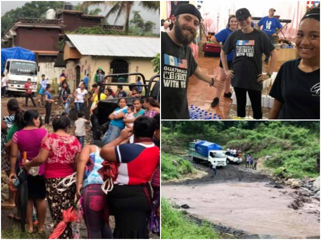 Local church helps Guatemalan volcano victims
