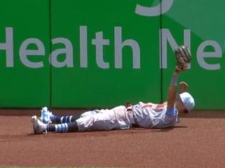 WATCH: Billy Hamilton makes best catch of season