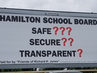 Sheriff's billboard blasts school security