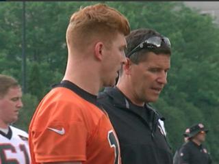 Dalton's aim: Put big play back in offense