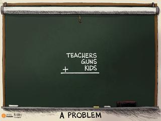 EDITORIAL CARTOON: A problem in school