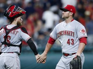Schebler homers as Reds top Indians 7-5