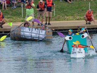 2018 Crazy Cardboard Boat Regatta
