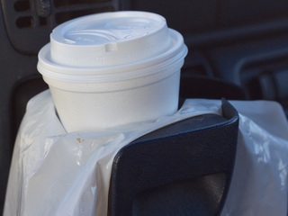 Man pleads guilty to putting glass in foam cups