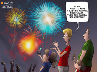 CAPTION THIS: Fourth of July