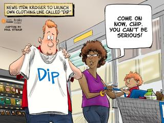 CAPTION THIS: Dip into fashion