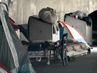 Tent city may not move this week after all