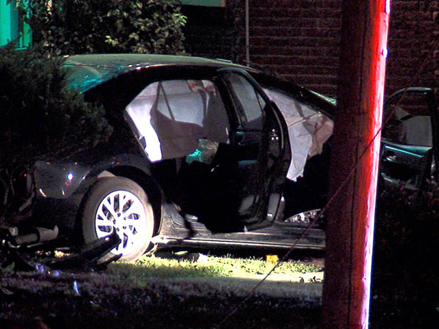 PD: 1 dead, 2 hurt after car crashes into home