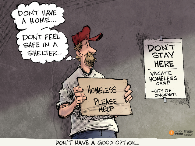 EDITORIAL CARTOON: Don't have a good option